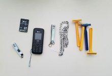 Celular e chip são apreendidos durante revista na cadeia de Sertânia 8