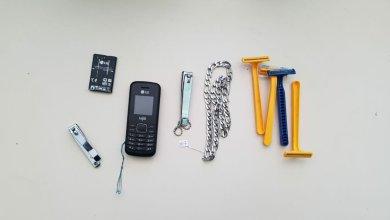 Celular e chip são apreendidos durante revista na cadeia de Sertânia 15