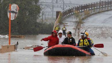 Áreas afetadas por inundações no Japão têm previsão de mais chuva 3