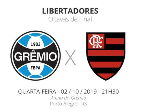 flz-e1570078205375-489x390 Grêmio x Flamengo disputam semifinal da Libertadores nesta quarta-feira(02)