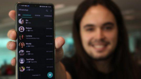 wat-zap-700x394 WhatsApp começa a liberar Modo Escuro no Android; veja como ativar
