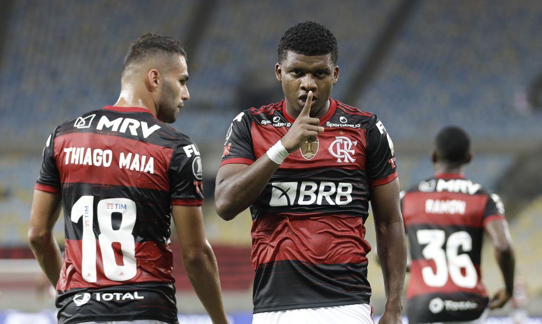 libertadores-fla Libertadores: Flamengo goleia Del Valle por 4 a 0 e chega a oitavas