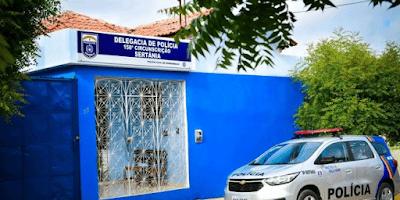 delegacia-sertania Dono de Bar em Sertânia PE é levado à delegacia por descumprimento do decreto municipal de prevenção ao contágio da covid-19