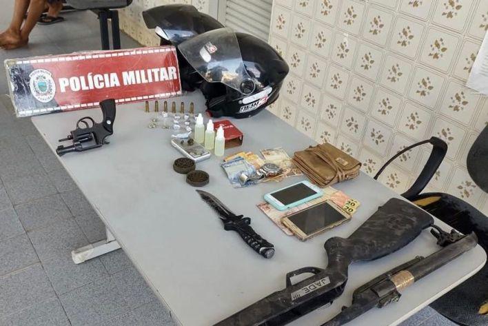 apreensao_pombal Grupo é preso suspeito de tráfico de drogas em Pombal