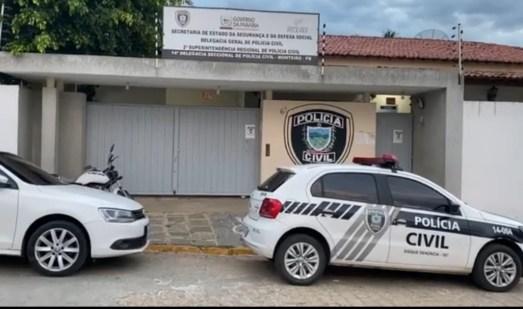 Delegacia-Monteiro Suspeito de agredir e amordaçar idoso de 70 anos durante assalto é preso em Monteiro