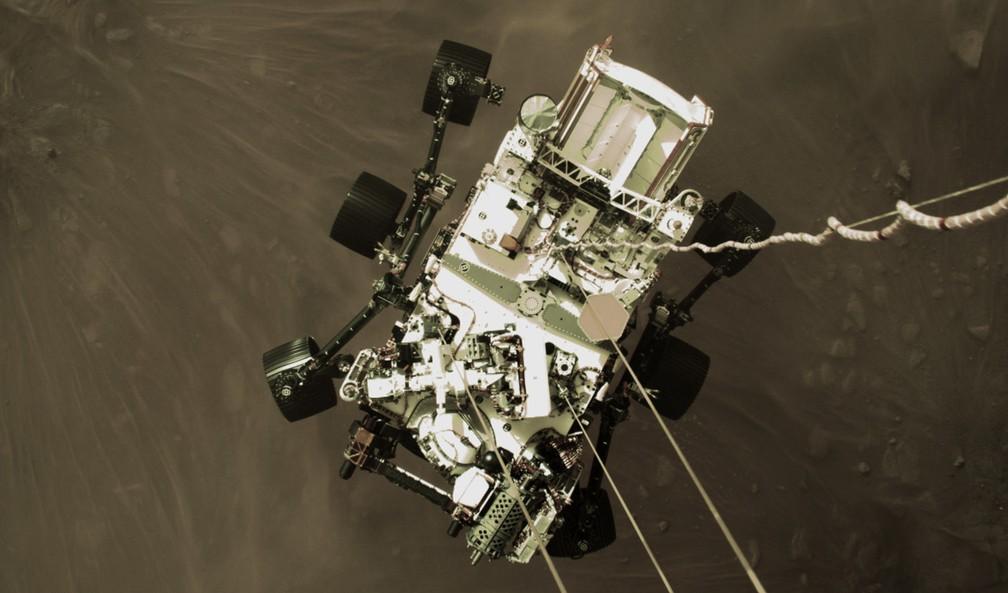 perseverance Robô Perseverance envia primeiras fotos coloridas de Marte