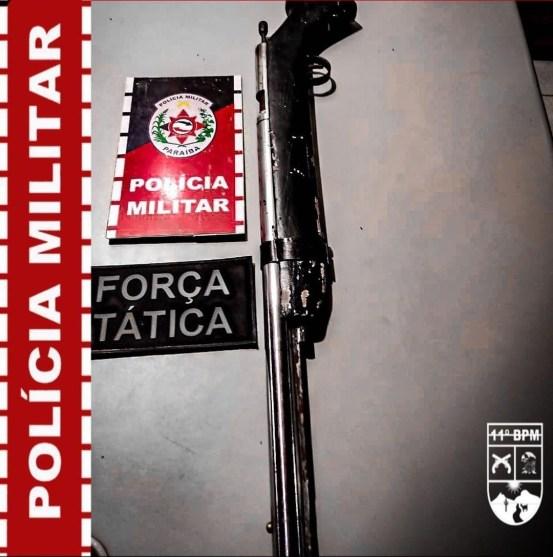 IMG_20210327_124619 Polícia Militar apreende arma de fogo durante Operação Previna-se, em Monteiro