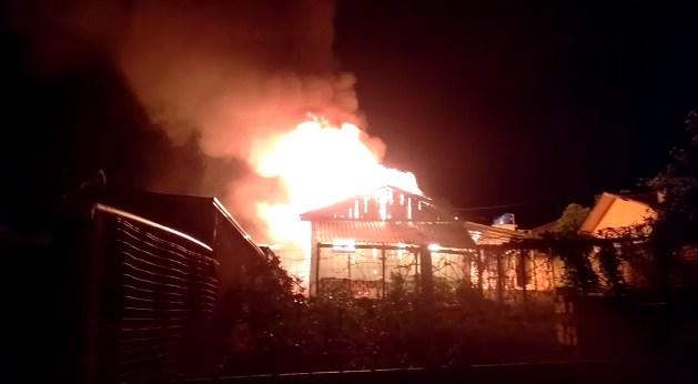 gua Em Sertânia, filho toca fogo na casa da própria mãe