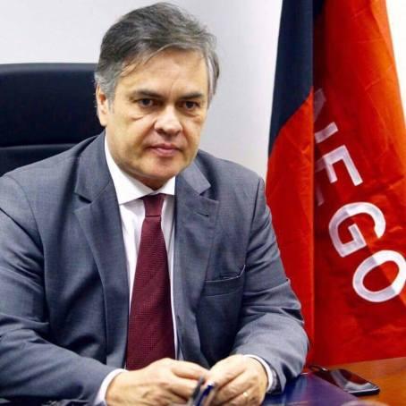 Cassio-Cunha-Lima Cotado para o Senado, Cássio dribla debate sobre postulação