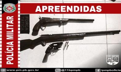 IMG-20210403-WA0008 Em Monteiro: Polícia Militar prende homem por posse ilegal de arma de fogo