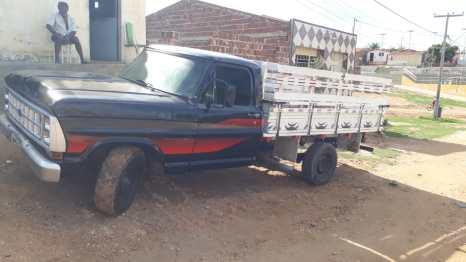 Modelo-F-–-1000-placas-MMZ-1994-cor-preta-ano-1983. Homem fica sem o veículo após cair em golpe de estelionatário na região do Cariri