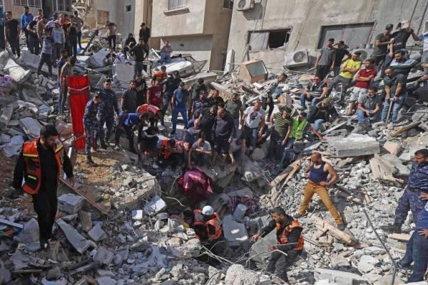 162116768760a10e47e91cb_1621167687_3x2_md-600x400 Ataque de Israel mata 42 palestinos, em ação mais letal desde início do conflito