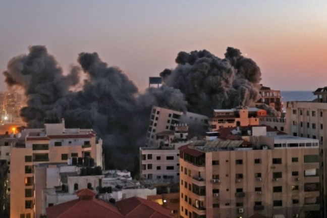 1_000_99r46d-9314216 Cresce número de mortos em confronto mais intenso dos últimos anos entre Hamas e Israel
