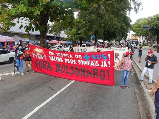 image_processing20210529-1578-5s37pv-533x400 Manifestantes fazem ato pelo impeachment do presidente Jair Bolsonaro na Paraíba