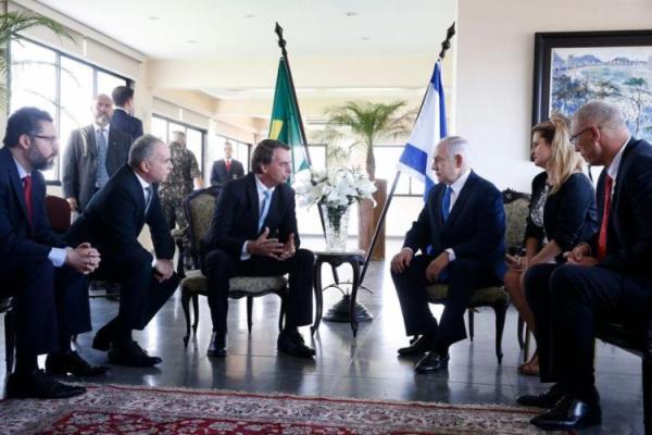750_netanyahu_2021614195130616-600x400 Bolsonaro agradece Netanyahu por parceria e dá boas-vindas a novo governo em Israel
