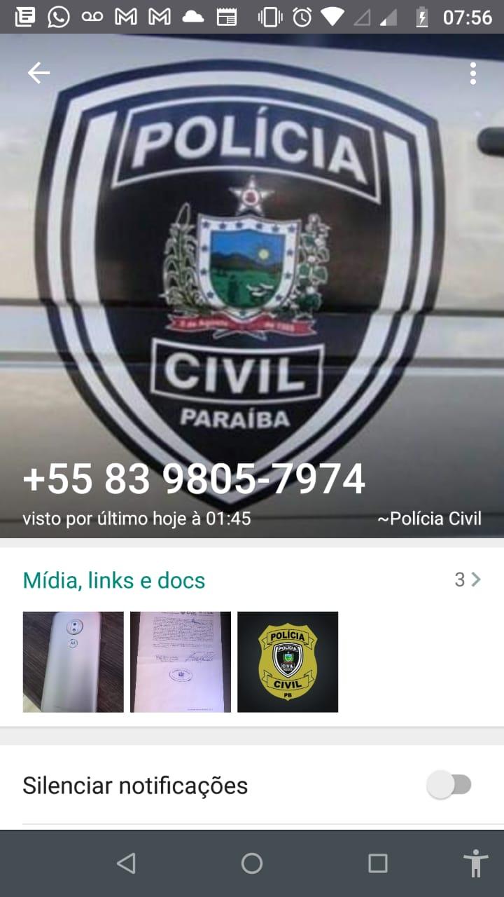 IMG-20210629-WA0167 Golpe: Estelionatários usam perfil da Delegacia de Monteiro para aplicar golpe nas redes sociais