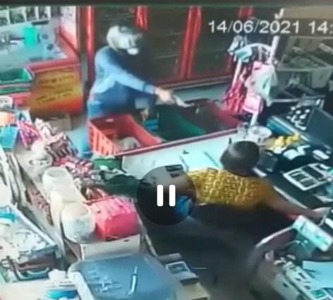 IMG_20210614_153133 Homem armado invade mercado em Monteiro, rende funcionária e leva dinheiro do caixa