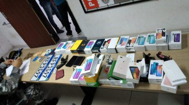 celulares Polícia Militar prende acusados de assaltar loja e recupera todos os celulares roubados na PB