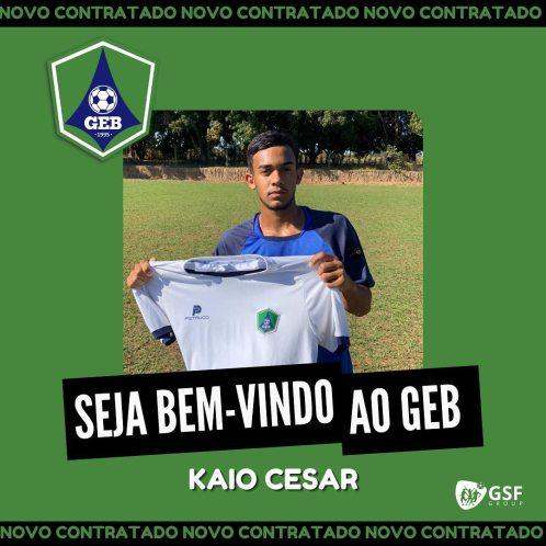 kaio-cesar Monteirense KAIO CÉSAR é contratado por clube de Brasília