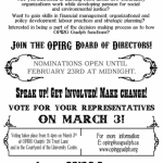 OPIRG – Guelph Board of Directors Elections