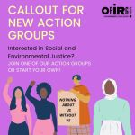 Callout For New Action Groups!