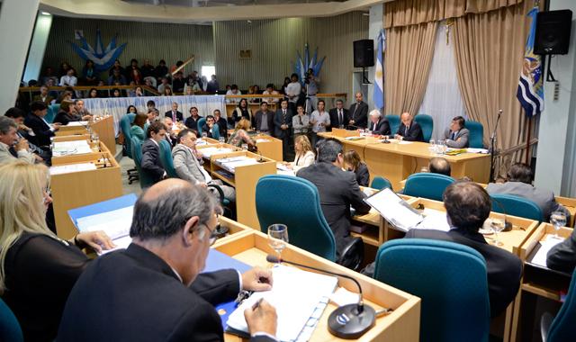 La última sesión del año 2013 en la Cámara de Diputados de Santa Cruz - Foto: OPI Santa Cruz/Francisco Muñoz