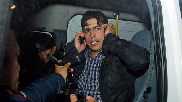 El  Secretario General de Petroleros Claudio Vidal  - Foto: OPI Santa Cruz/Daniel Bustos