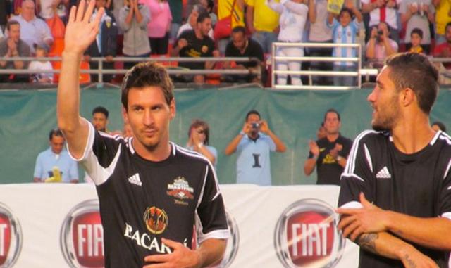 Messi y sus amigos - Foto:
