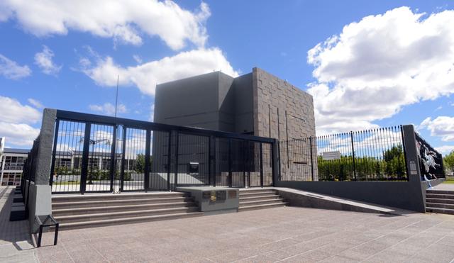 El mausoleo de la familia Kirchner construido por Austral Construcciones - Foto: OPI Santa Cruz/Francisco Muñoz