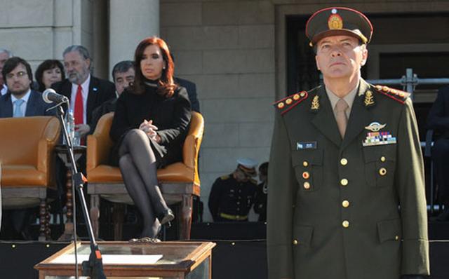 El general César Milani - Foto:
