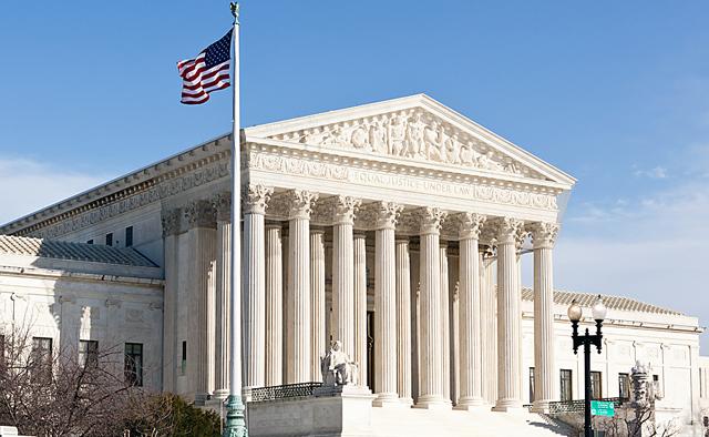 La corte Suprema de los EEUU - Foto: