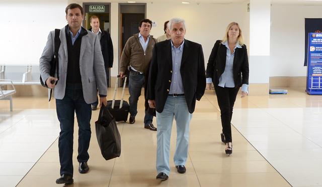 Antonio Calo llega a Río Gallegos - Foto: OPI Santa Cruz/Francisco Muñoz