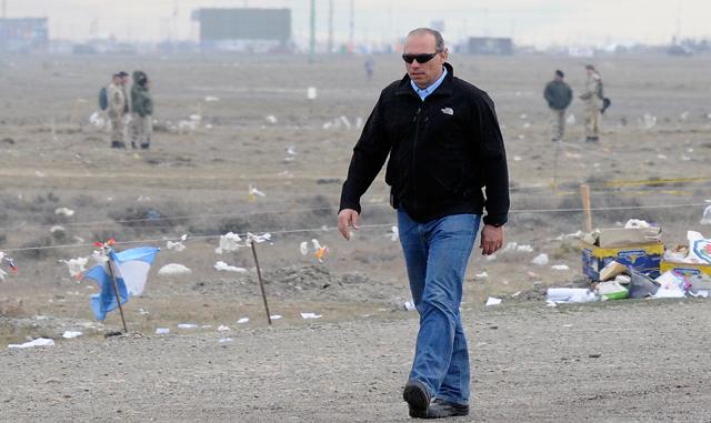 El Secretario de Seguridad Sergio Berni - Foto: OPI Santa Cruz/Francisco Muñoz