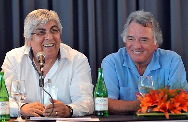 Moyano y Barrionuevo se reúnen para definir la fecha del paro nacional, al que se suma la CTA - Foto: