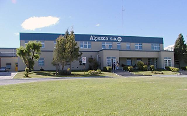La planta de Alpesca S.A - Foto: web