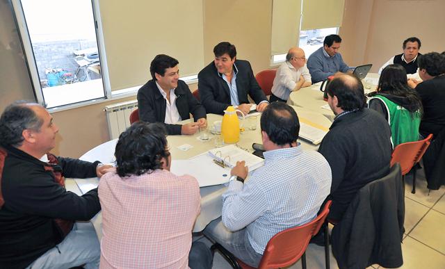 La paritaria central entre el Poder Ejecutivo y los gremios estatales - Foto: Prensa Gobierno
