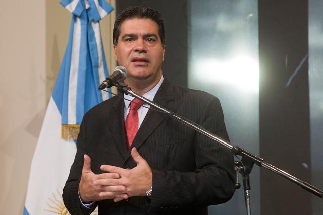El jefe de Gabinete Jorge Capitanich - Foto: Presidencia