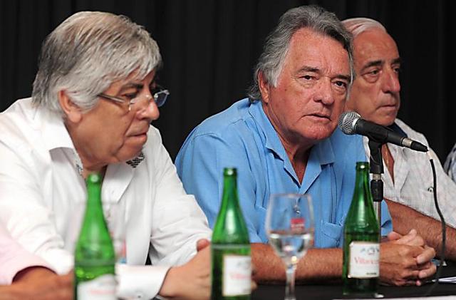 El secretario general de los gastronómicos Luis Barrionuevo - Foto: Infobae