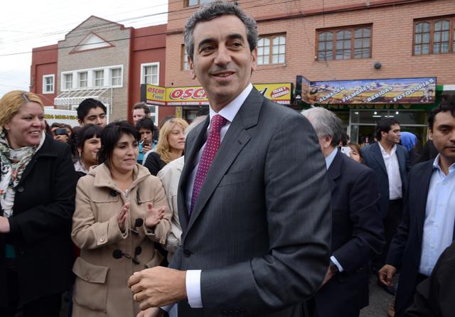 El Ministro Florencio Randazzo en Río Gallegos - Foto: OPI Santa Cruz/Francisco Muñoz