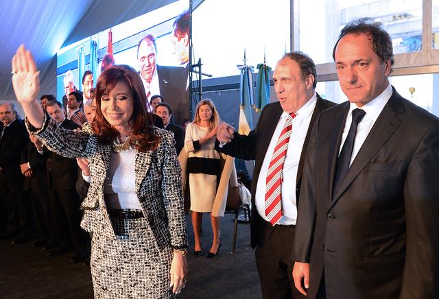 """""""Contra todos los pronósticos, pudimos llegar a un acuerdo sin que interviniera el FMI"""" - Foto: Presidencia"""