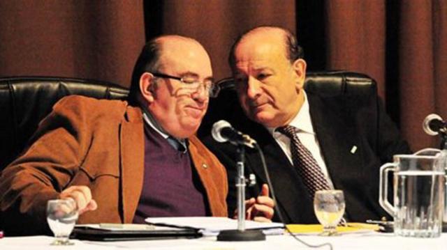 Pedro de Diego (izquierda) y Enrique Guanziroli, dos de los jueces del ejemplificador caso - Foto: Diario Jornada