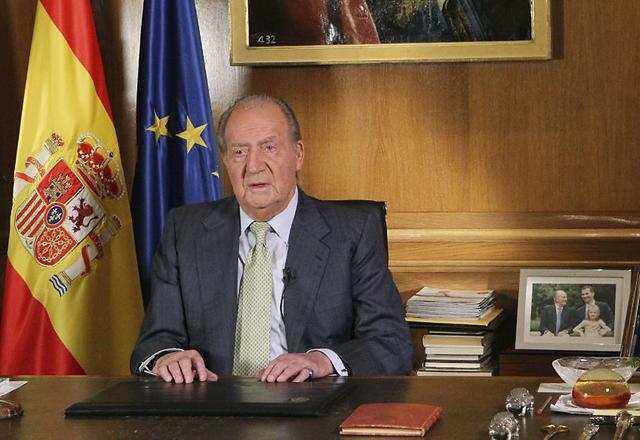 """Habló el rey Juan Carlos, tras abdicar: """"Hoy merece pasar a la primera línea una generación más joven"""""""