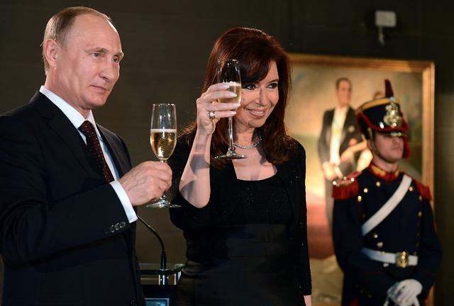 Rusia busca incrementar sus negocios en la Argentina