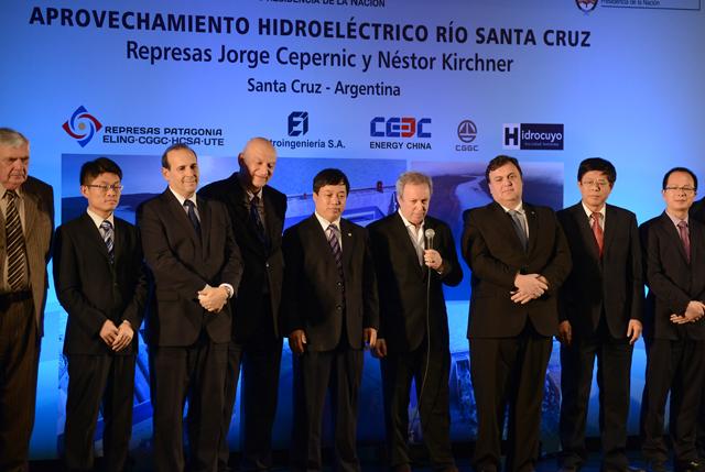 Quedó firmado el financiamiento de las represas en Santa Cruz - Foto: OPI Santa Cruz/Francisco Muñoz