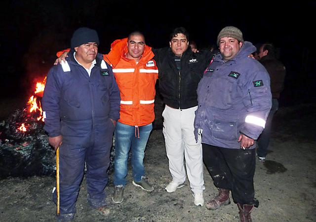 """El Sindicato de Petroleros se puso al frente de la protesta en SINOPEC y remitió a una operación desde """"La Federación"""""""