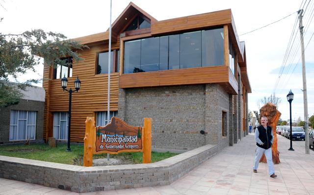 La Municipalidad de Gobernador Gregores - Foto: OPI Santa Cruz/Francisco Muñoz