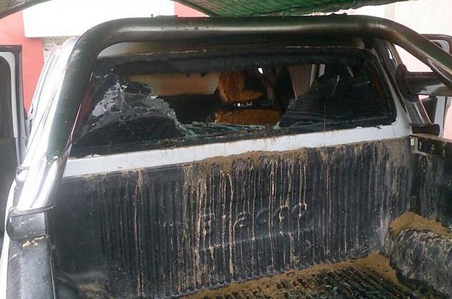 Incendiaron la camioneta de un concejal que filmó con Lanata en Formosa