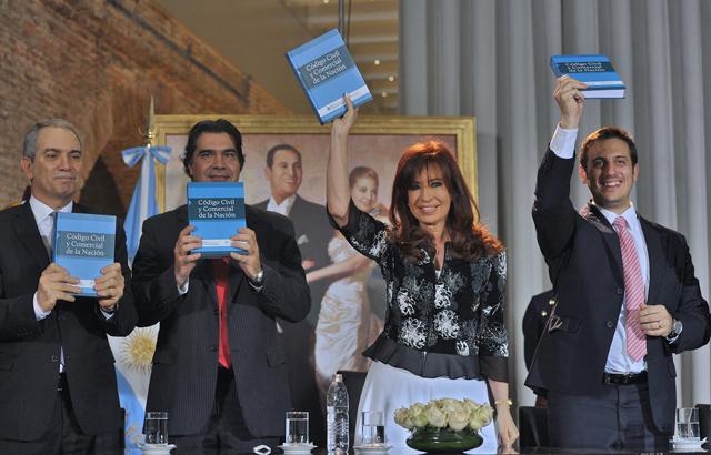 Cristina anunció que impulsará una reforma del Código Procesal Penal