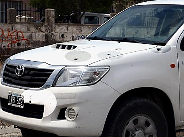 Petroleros a los tiros. Balearon un vehículo de Sinopec. División y pelea por la Caja y el poder - Foto: La Vanguardia del Sur