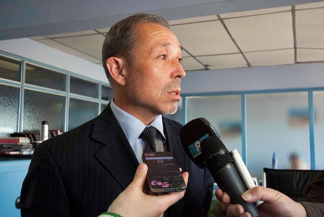 Situación policial (5): Llegó el Fiscal Federal Domínguez  para investigar el alzamiento policial